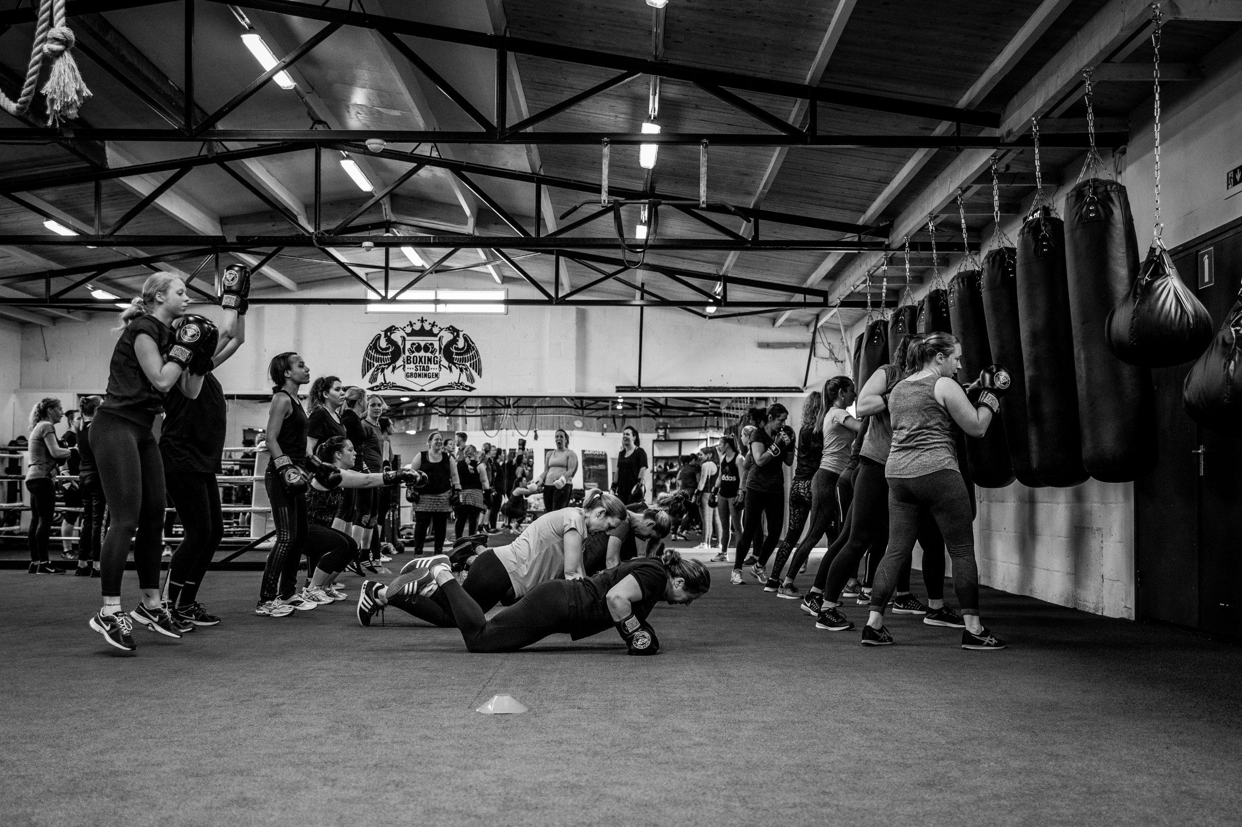 vrouwen boksen groningen